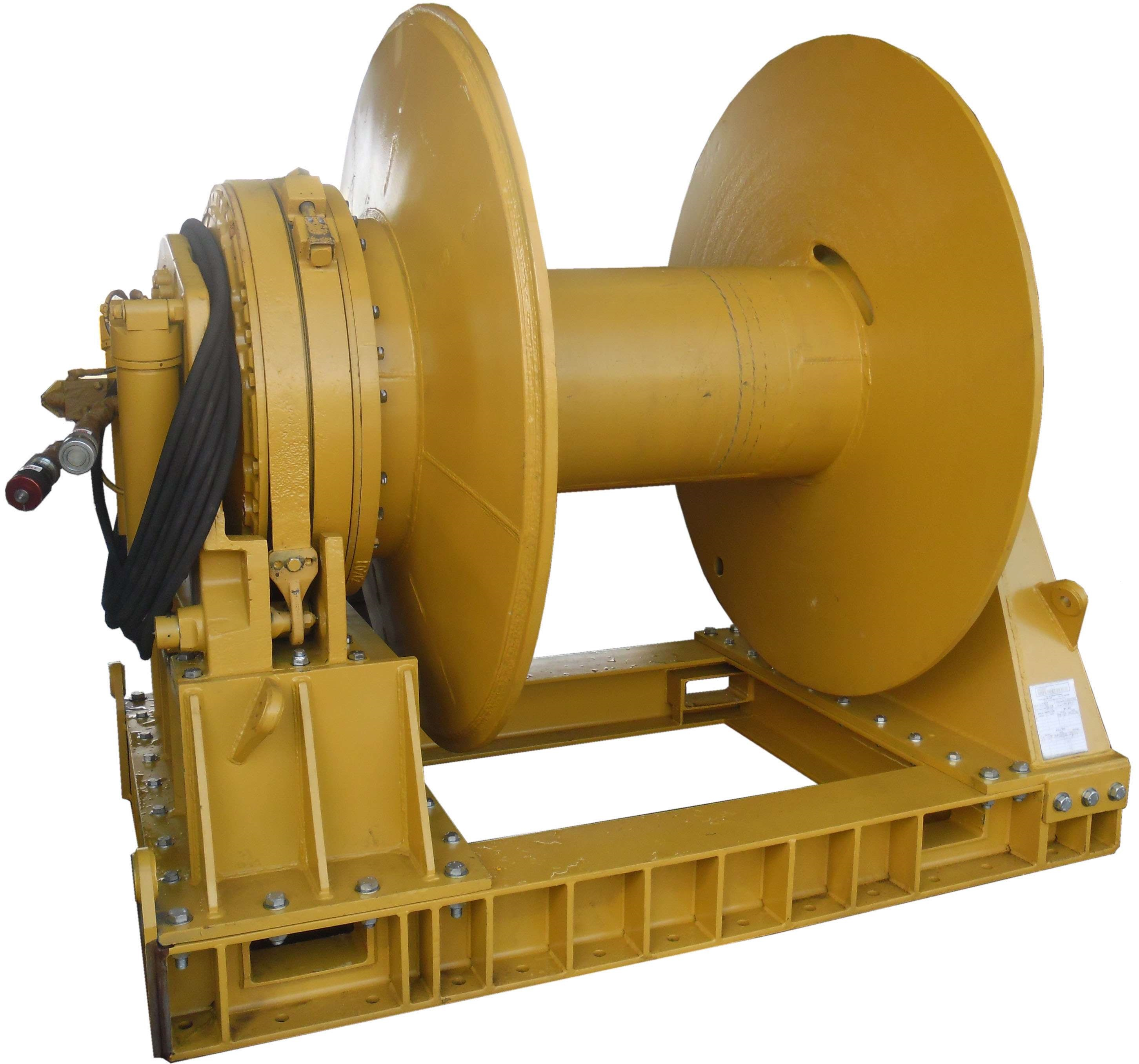 Pneumatic Air Winch Lifting and Pulling Machine