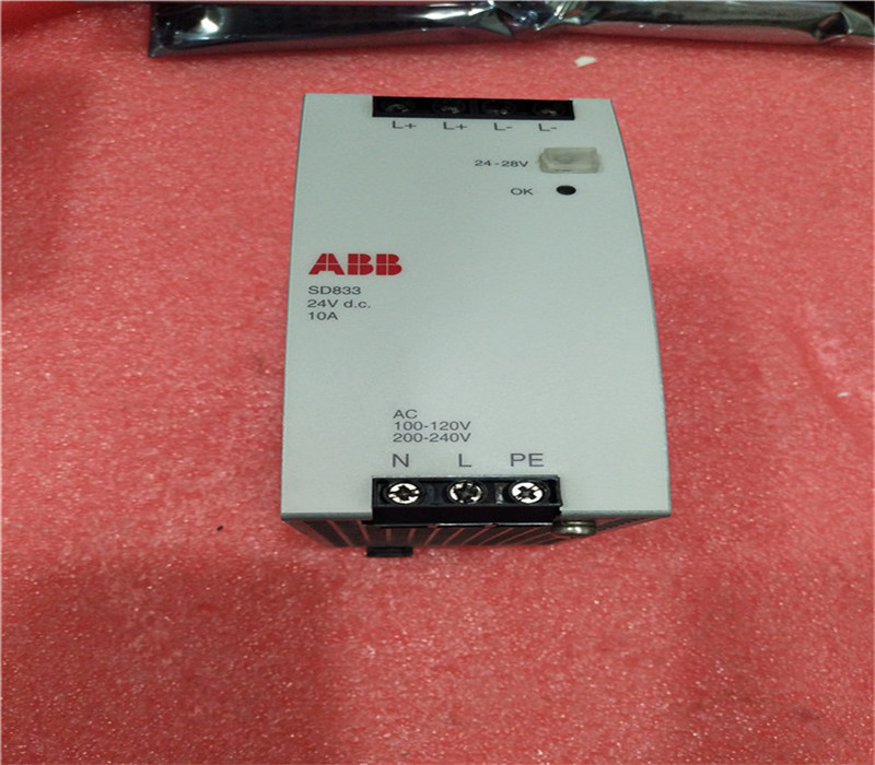 ABB SD833 ,new certificated product in stock
