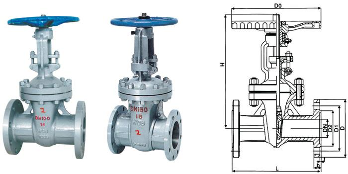 GB Wedge Gate Valve