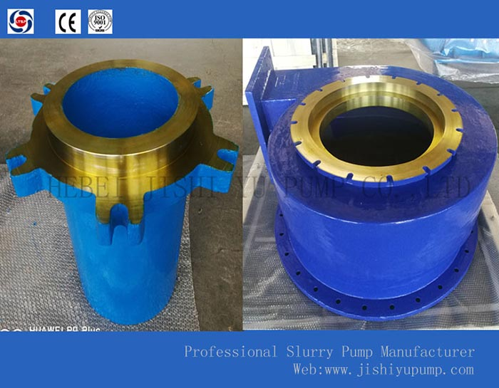 HI CHROME IRON CASTINGS  custom slurry pump Accessories  slurry pump Frame plate liner