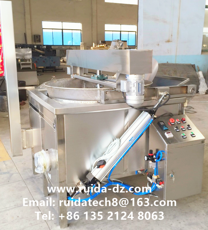 Frying pan, Fryer, Snacks Frying Machine