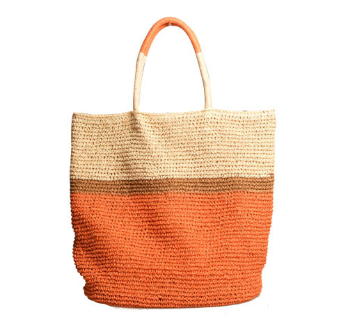 shoulder straw bag