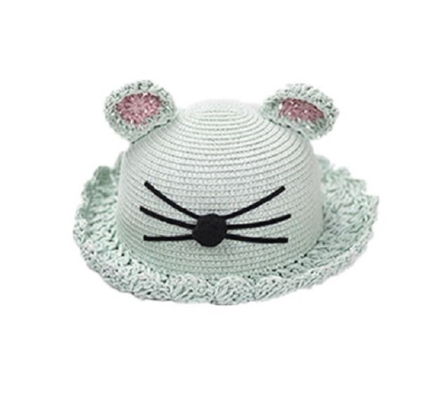 fashion kids fedora straw hat