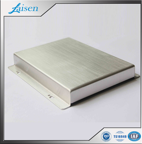 Junction Box Cover with Brushing Process China factory Precision Sheet Metal Fabrication