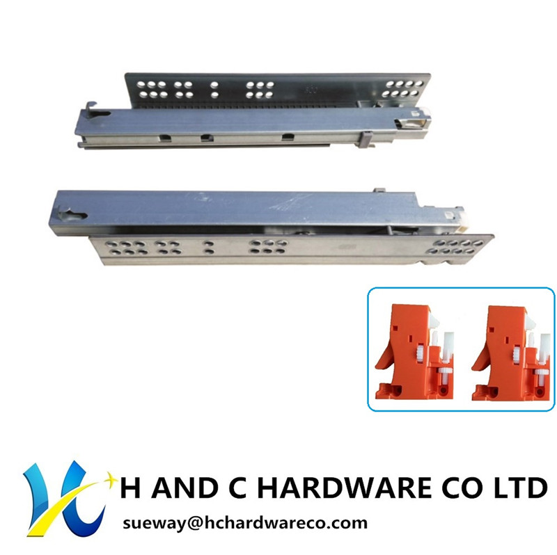 K3001 Full extension Concealed undermount drawer slide
