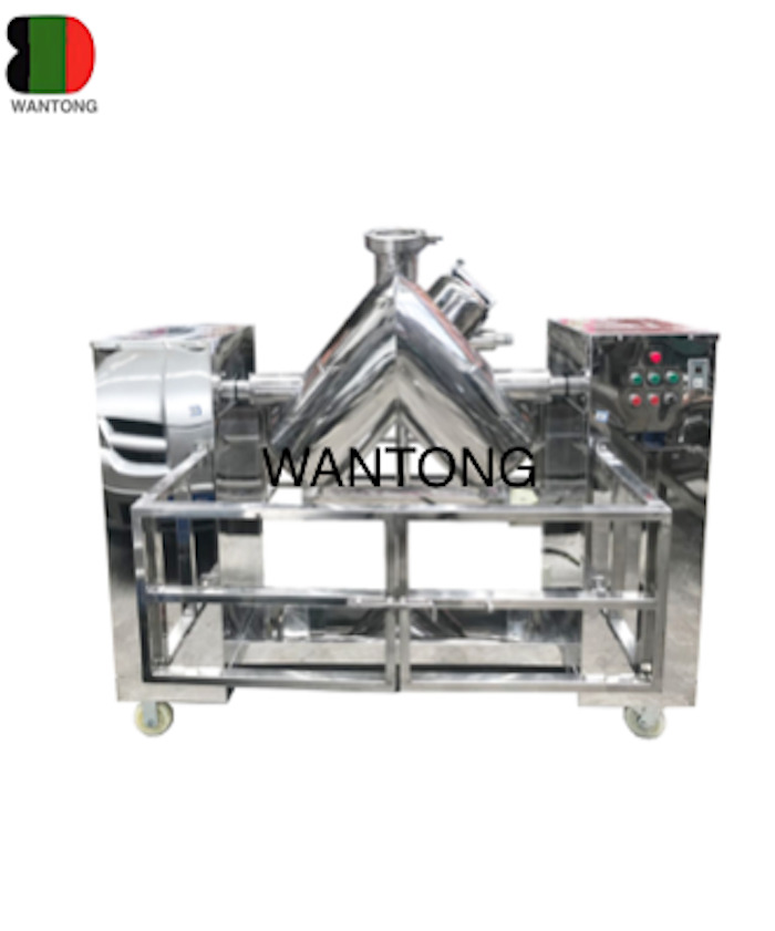 V Shaped Mixer Mixing Machine With Protective Guard