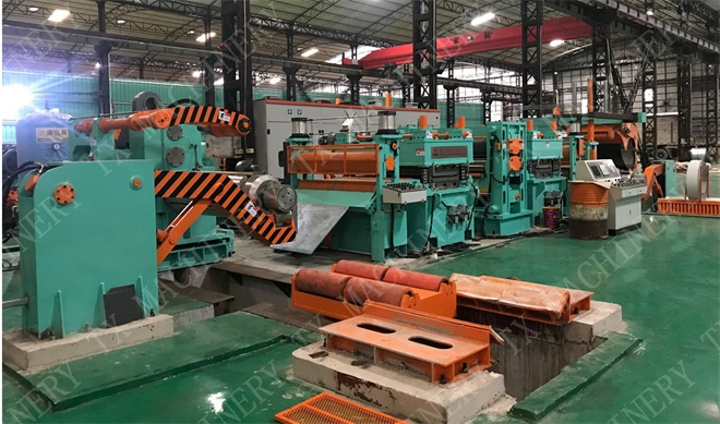 TX Hydraulic Stainless Steel Metal Embossing Line