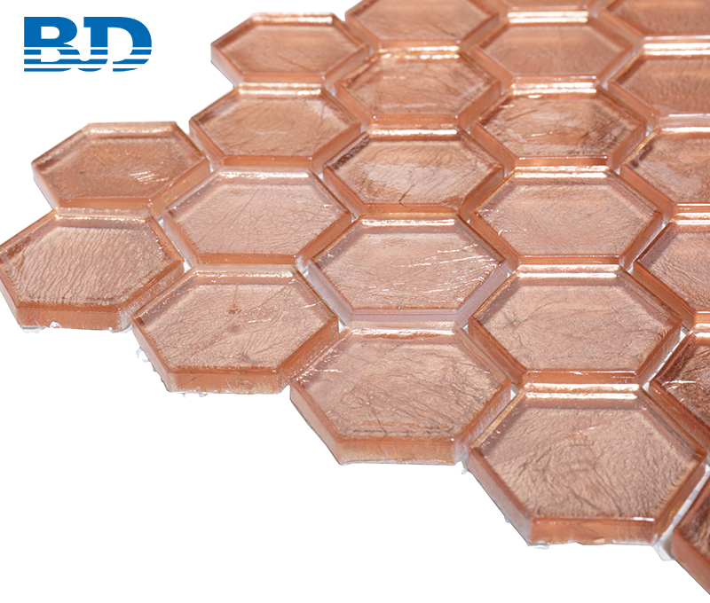 Copper Glass Mosaic