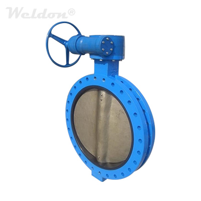 Metal Seat Triple Offset Butterfly Valve