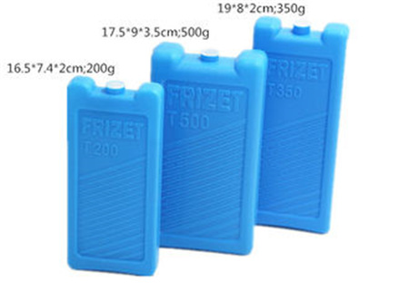 Blue Multi Specification Plastic Reusable Ice Blocks Gel Ice Pack For Fan