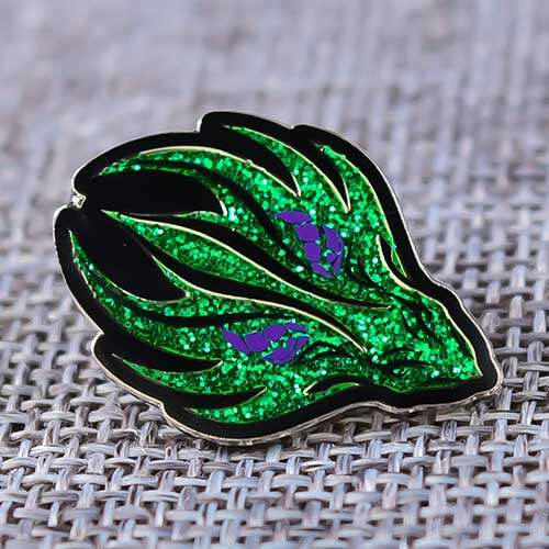 Enamel Pins | Green Fire Custom Enamel Pins