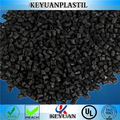 Black color plastic raw material injection molding grade MOS2 filled polyamide 66 free sample