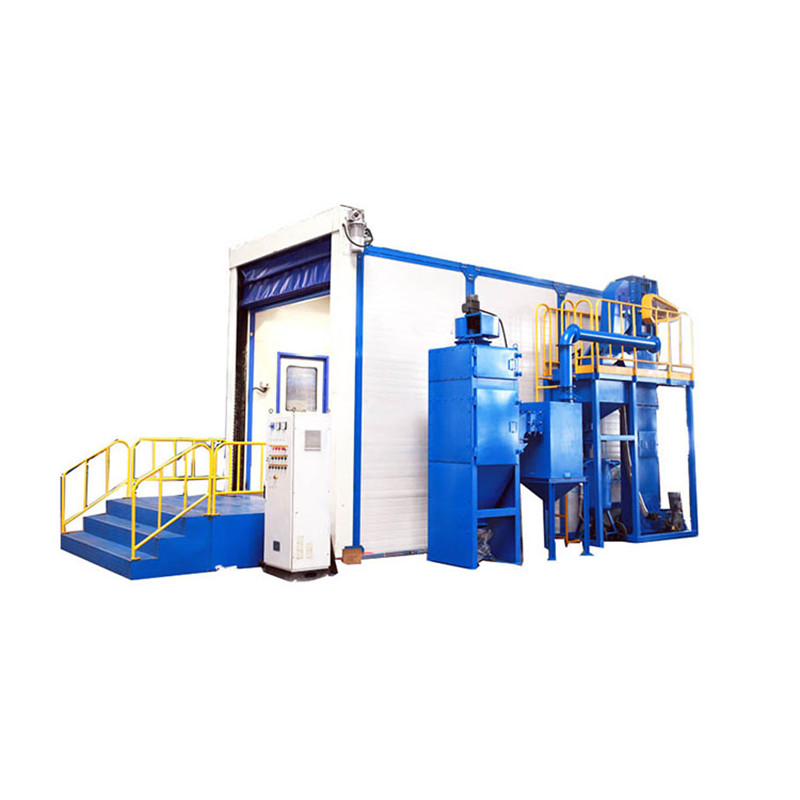 Dust Cleaning Rust Removal Booth High Quality Sand Blasting Room