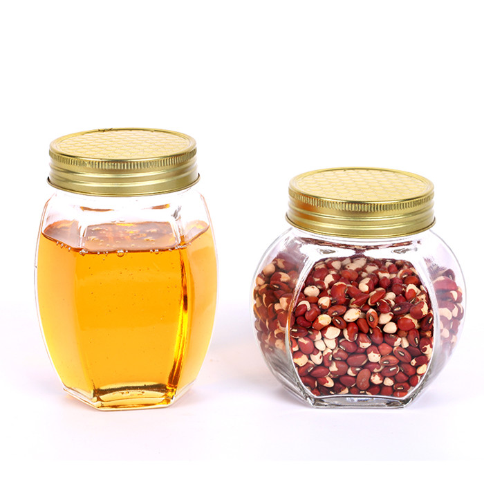Glass Mason Jar/Jam/Honey Jars