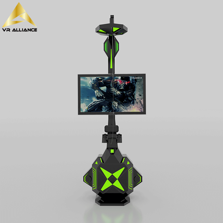 vr shooting standing battle platform