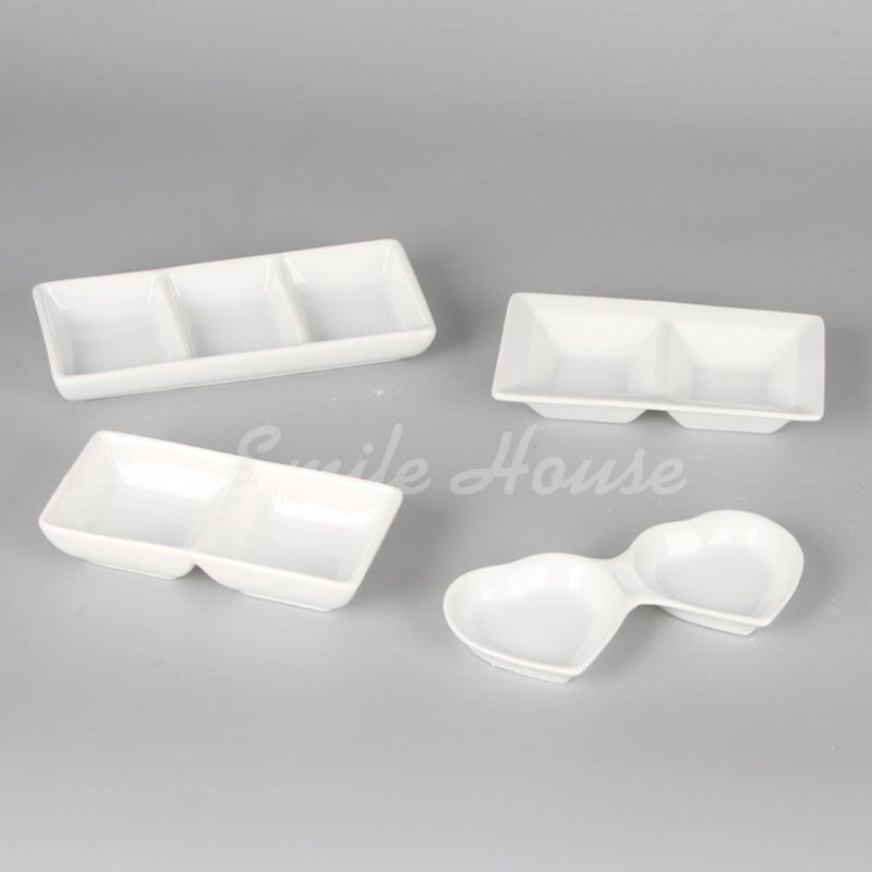 Wholesale rectangle ceramic dinner dishes