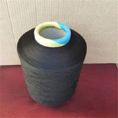 Black Polyester Covered Yarn For Socks