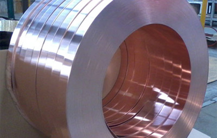 Copper-Steel Clad Sheet