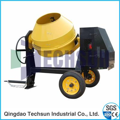Mobile Diesel Engine Concrete Mixer