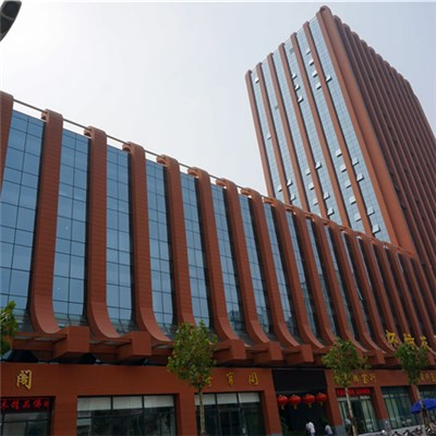 Terracotta Rainscreen Facade System