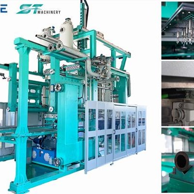 Single Minute Exchange Of Die EPS Shape Moulding Machine
