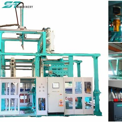 Quick Die Change System EPS Shape Moulding Machine