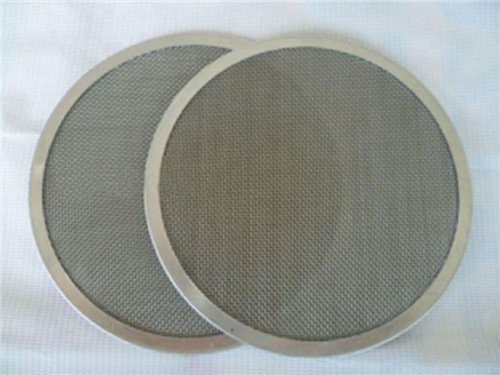 extruded filter discs