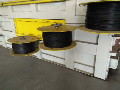 automatic baling wire for cardboard