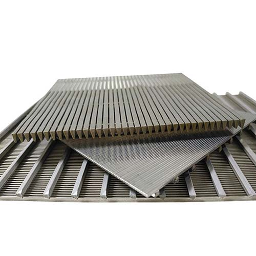 Custom Wedge Wire Screen Filter Panel for Wastewater Treatment, Coal Mining