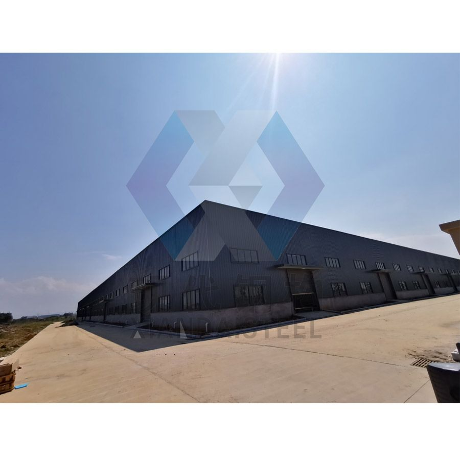 Prefabricated Warehouse Steel Structure Building with CE Certification