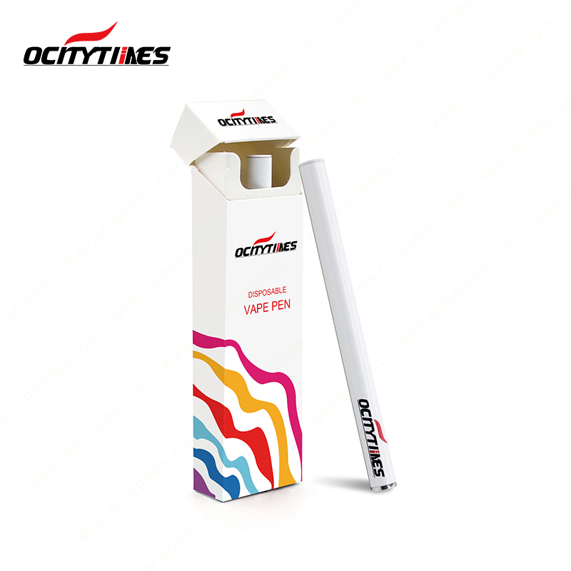 Ocitytimes disposable electronic cigarette with prefilled e juice