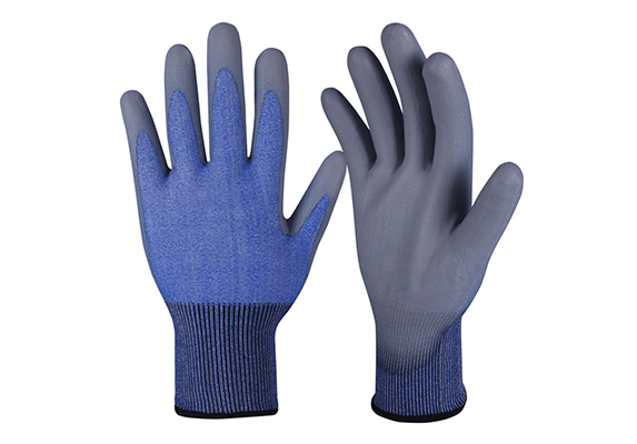 PU Coated Safety Work Gloves