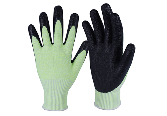 Latex Coated String Knit Safety Work Gloves