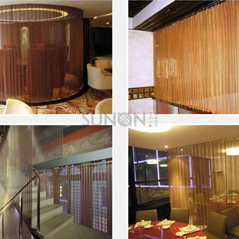 Spiral Architectural Wire Mesh  Architectural & Decorative Metal Facade