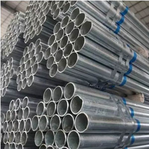 Zinc coated tube