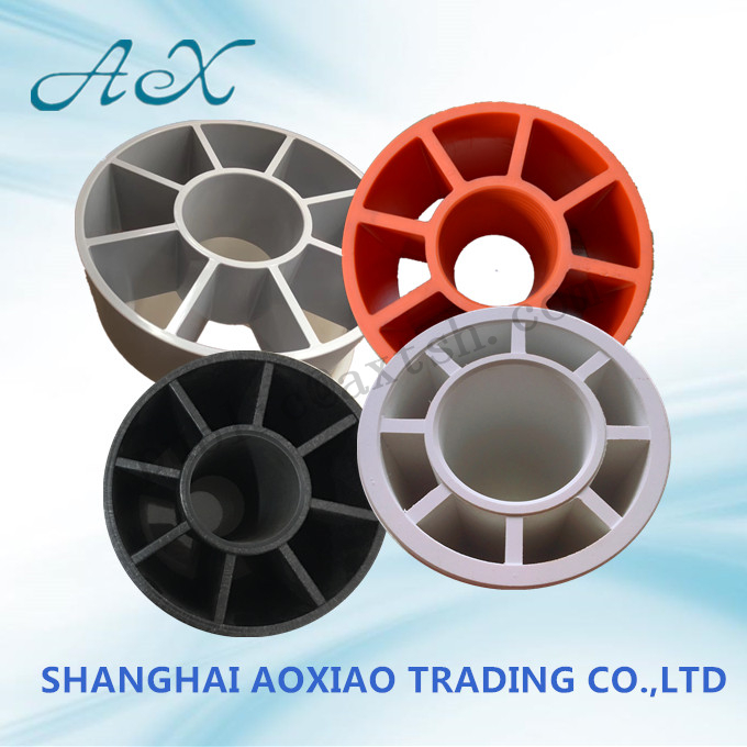 Black ABS/Nylon Plastic Honeycomb Spool core