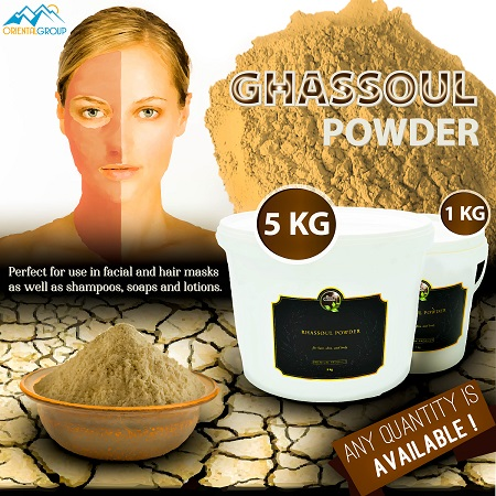 Moroccan ghassoul in bulk