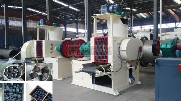 charcoal dust briquette machine