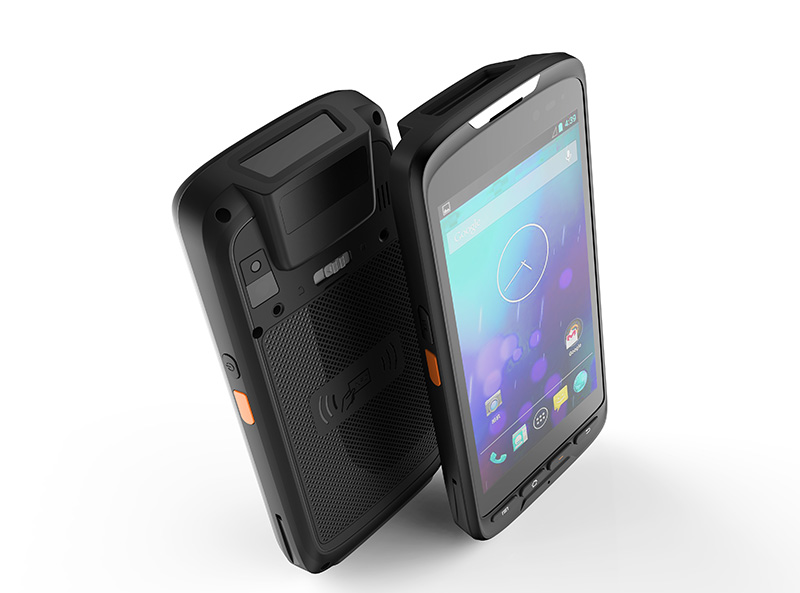 Wifi GSM 4G LTE 5 inch Rugged Industrial mobile handheld PDA