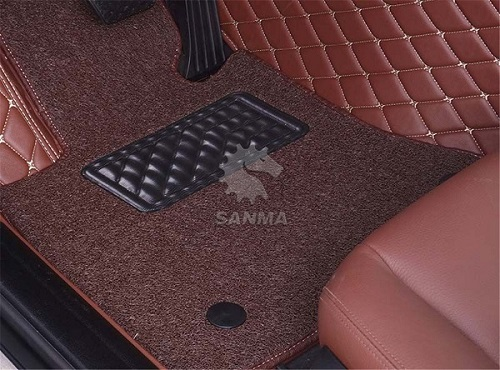 High-elasticity sponge floor mat