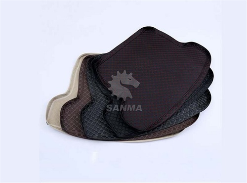 leather car floor mat