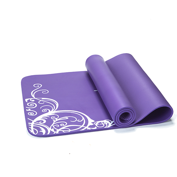 1/2 inch thickness High Density Eco-friendly NBR yoga mats-kmn01