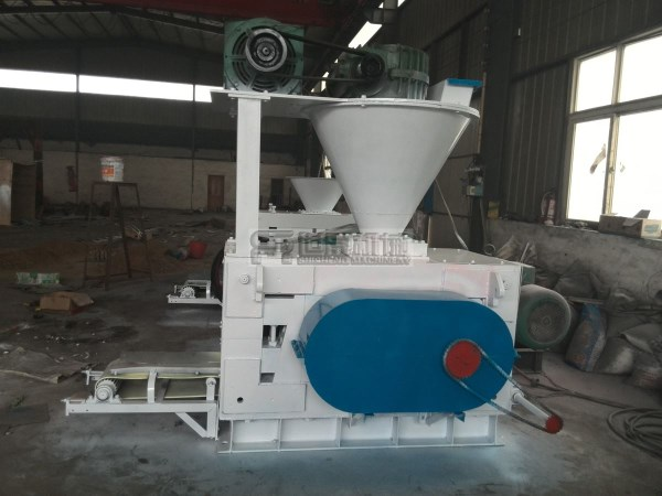 Aluminum dross briquette machine