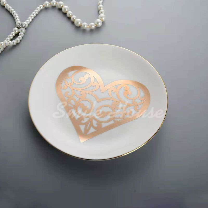 Round and best size ceramic trinket and ring dish