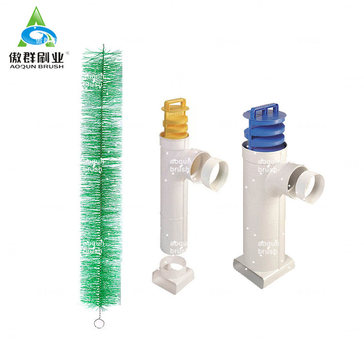 Green Sewage Diy Filter Brush—-AOQUN Brush Manufacturer, Your Best Choice