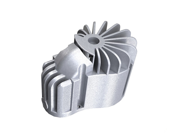 aluminum dc motor housing