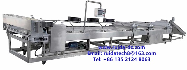 Automatic forming cutting machine in Peanut brittle production line