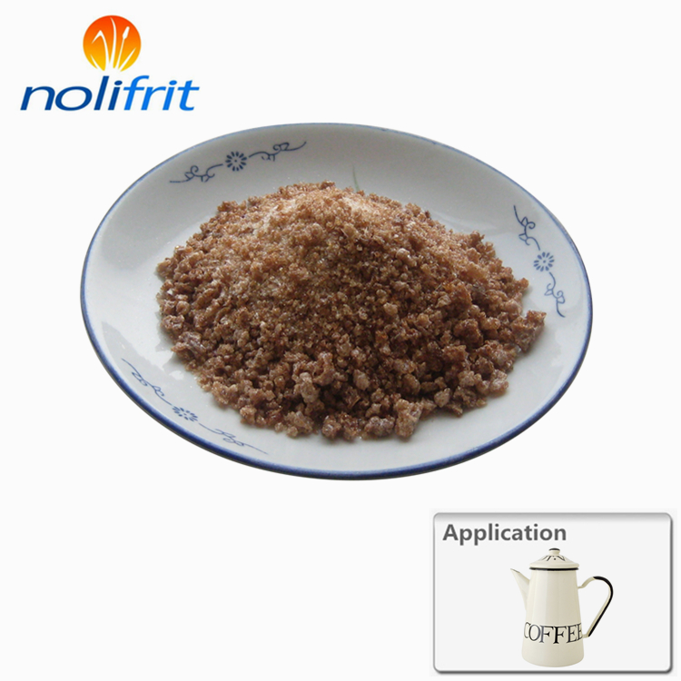 Nolifrit high quality Titanium ivory cover coat enamel frit ETC-213