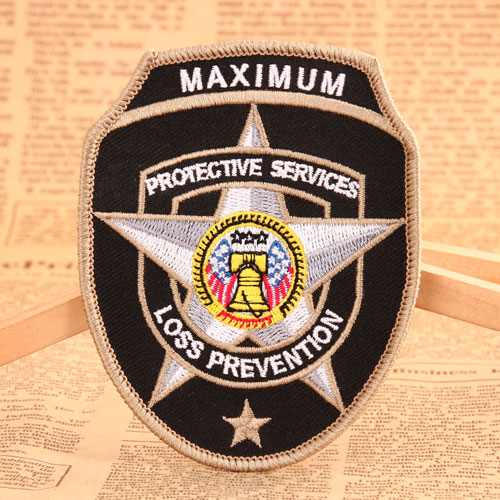 Police Badge Personalized Patches