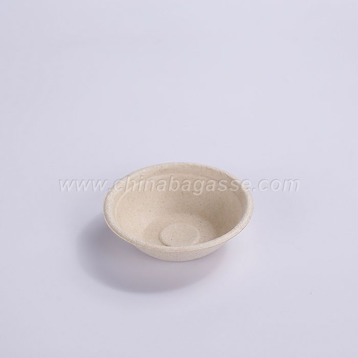 Biodegradable Compostable Disposable 2 oz Sugarcane Bagasse Sauce Cup